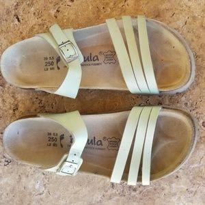 Betula Pale Green Sandals Size 39